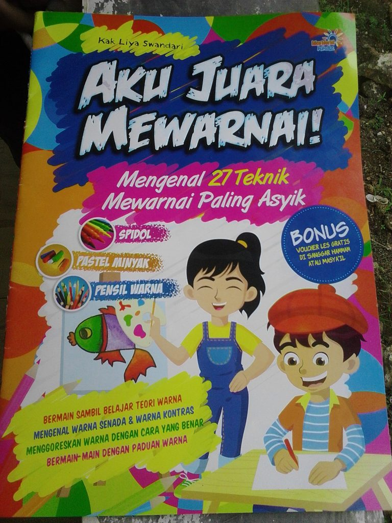 Buku Juara Mewarnai