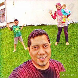 Foto saya pinjam dari Facebook Mak Arifah