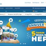 Dengan Tiket.com, Dunia Tak lagi Selebar Daun Kelor