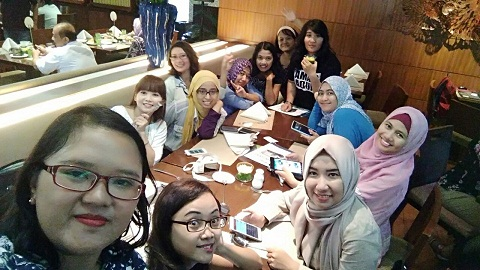 Blogger Cantik Jogja di Blogger Gathering Brother Indonesia (Dokumen by Atanasia Rian)