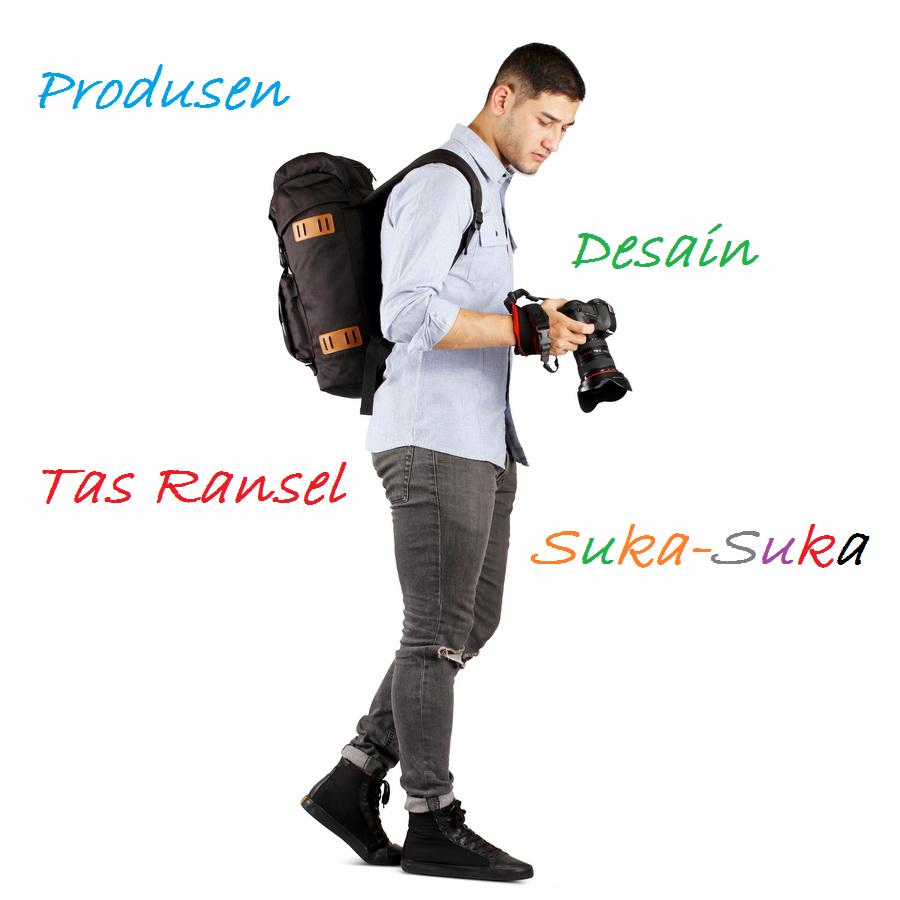 Produsen Tas Ransel Desain Suka-Suka