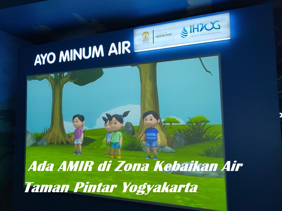 AMIR dan Zona Kebaikan Air di Taman Pintar Yogyakarta