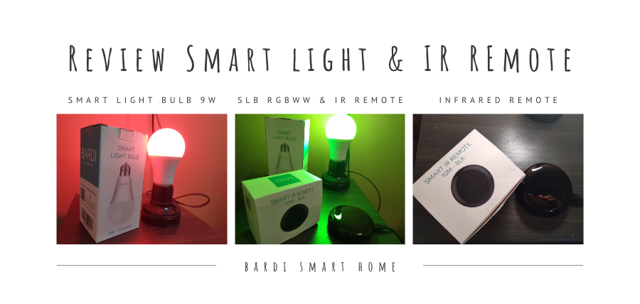 Bardi smart light & IR Remote
