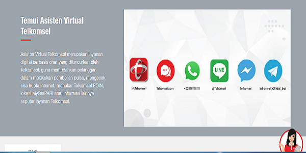 Akses Asisten Virtual Telkomsel
