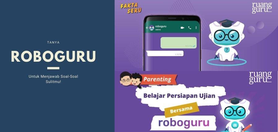 Tanya Roboguru Untuk Menjawab Soal-Soal Sulitmu!